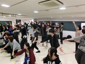卒公稽古☆ダンス