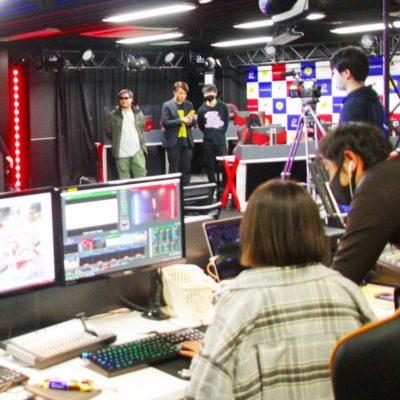 e-sportsワールドの学生さんたちの「配信イベント」