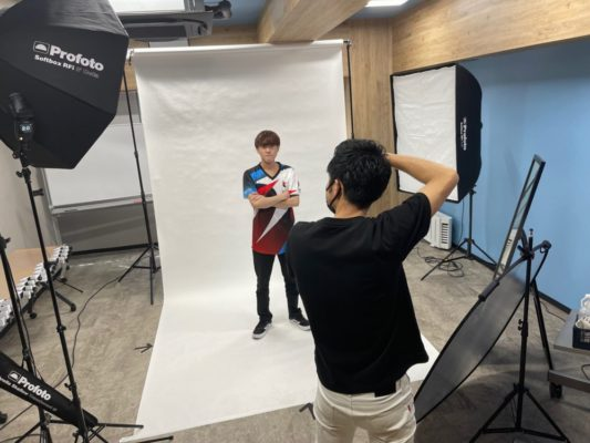 e-sportsワールド アー写撮影会を開催。