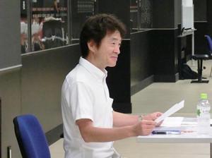 島田敏先生、来校!!