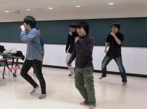 ダンス特訓中!!