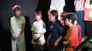白服&紺シャツ&オレンジボーイ